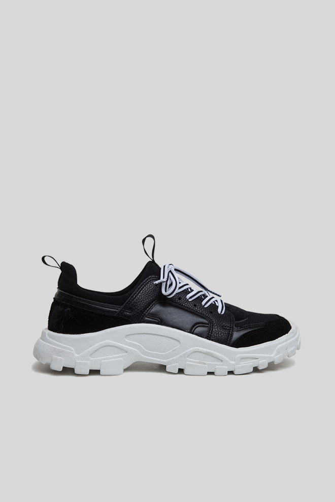 Lugged Sole Running Shoes
