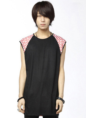 킬러비red circlesleeveless