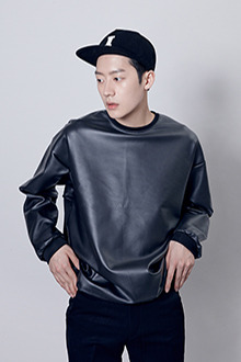 COATING LOOSE FIT MTM코팅 루즈핏 맨투맨[4color / one size](H)