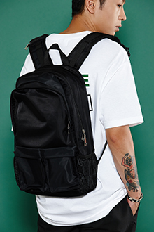 SIMPLE MESH BACKPACK 심플 매쉬 백팩 [2color / one size]