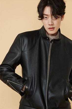 CHINA LEATHER JACKET차이나 레더 자켓[one color / 2size]