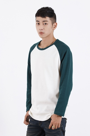 RAGLAN LETTERING T 레글런 레터링 티 [3color / one size]