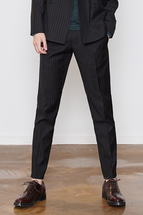 CAESAR DOUBLE STRIPE SLACKS 스트라이프 슬랙스 [2color / 3size]