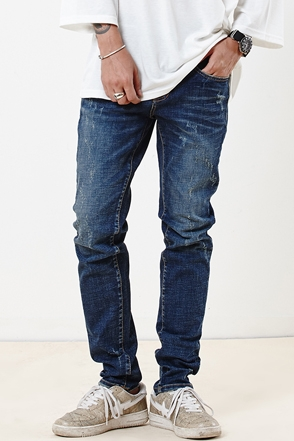 BLUE CRACK JEAN 블루 크랙 진 [one color / 3size]