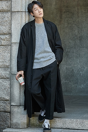 BERLIN LONG COAT 베를린 롱코트 [2color / one size]
