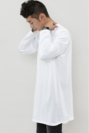 BASIC LONG TEE 베이직 롱 티 [2color / one size]