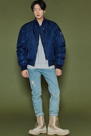 트윈 오버핏 항공점퍼 [3color / one size]