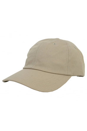 Yupoong/유풍 Low Profile Cotton Twill Cap  (Stone)