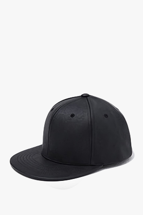LEATHER BASIC SNAPBACK레더 베이직 스냅백[2color / one size]