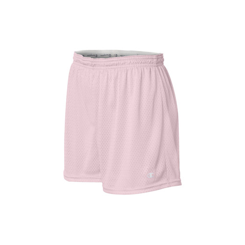 Champion/챔피언 CA33 Ladies Tagless Active Mesh Short (Cashmere Pink)
