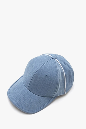 AWESOME IMAGINATION SELVEDGE DENIM 6P BALL CAP Light-Denim