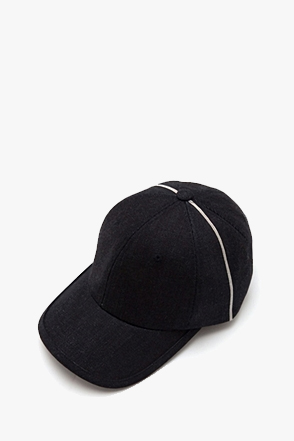 AWESOME IMAGINATION SELVEDGE DENIM 6P BALL CAP Dark-Denim
