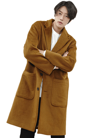 DOUBLE FABRIC OVER COAT 이중지 오버 코트 [4color / one size](H)
