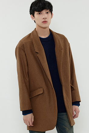 WOOL OVER LUM COAT 울 오버 룸 코트 [3color / one size]