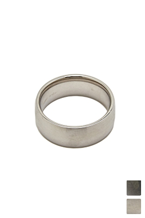 CIRCULAR SIMPLE RING 서큘러 심플 링 [2color / one size]