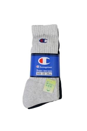 Champion/챔피언 3 Pack Sports Socks (Set)