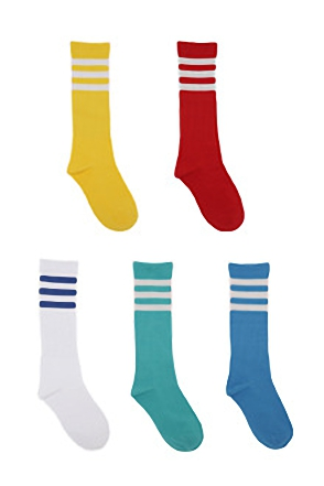 COLOR LINE SOCKS컬러 라인 삭스[5color / one size]