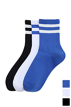 SHORT SKATE SOCKS쇼트 스케이트 삭스[3color / one size]