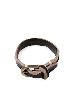 GOLD BUCKLE BRACELET골드버클 팔찌[6color / one size]