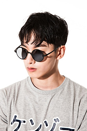 HOLE MIRROR SUNGLASSES홀 미러 선글라스[4color / one size]